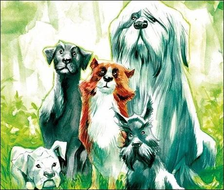 Preview – Beasts of Burden: Wise Dogs And Eldritch Men #1 by Dorkin & Dewey