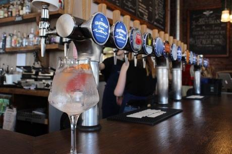 Deeside Distillery create HUGE G&T for  Aberdeen this weekend
