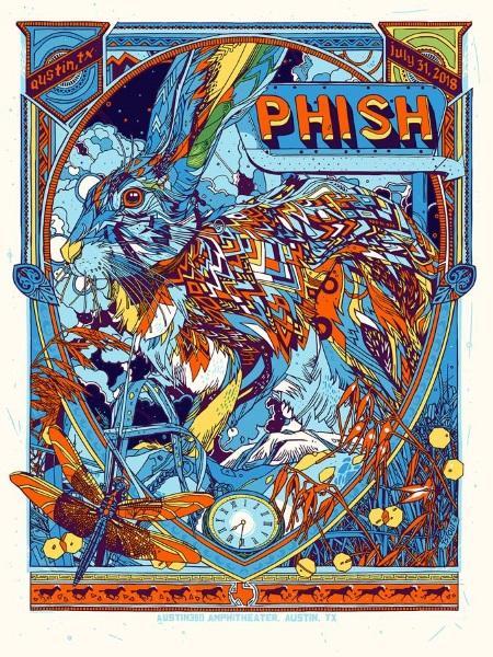 Phish 2018 Summer tour SBD + torrents: 2018/07/31 Austin