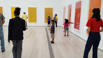 """KIDS ART ACTIVITY: Inspired by """"Butterfly"""" Compositions by Mark Grotjahn at LACMA"""