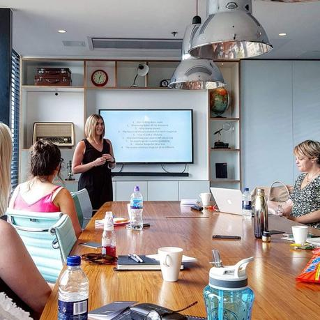 Lifestyle|| I went to a Women's Presentation Workshop with Kirsty Hulse!