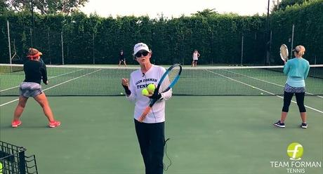 A Doubles Tennis Drill: The T-To-T