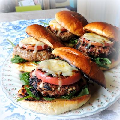 Turkey Burgers with Cheddar & Apple