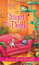 FLASHBACK FRIDAY: Staged To Death by Karen Rose Smith-  Feature and Review