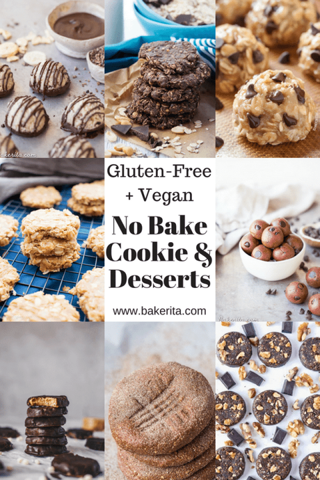ROUNDUP! 75+ Gluten Free & Vegan No-Bake Desserts