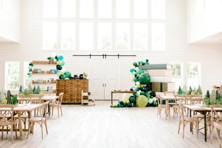 Joanna Gaines: Pic's From Baby Crew's Book Themed Baby Shower