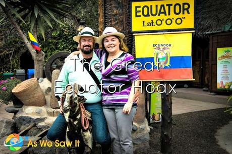 Where is the Real Equator Line in Ecuador?
