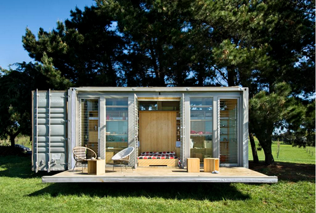 1.) A shipping container doesn't have to be a closed space. - All You Need is Around $2000 to Begin Building One of These Epic Homes – Made From Recycled Shipping Containers!