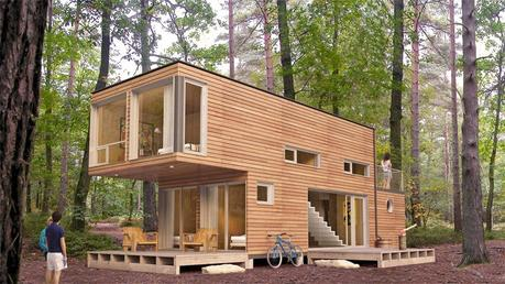 5.) The shapes are basically the same, but wow.- All You Need is Around $2000 to Begin Building One of These Epic Homes – Made From Recycled Shipping Containers!