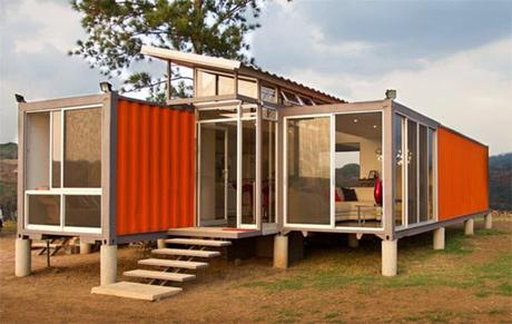3.) Open up the metal boxes and let your imagination run wild. - All You Need is Around $2000 to Begin Building One of These Epic Homes – Made From Recycled Shipping Containers!