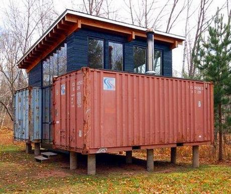 10.) Modern, yet … not. - All You Need is Around $2000 to Begin Building One of These Epic Homes – Made From Recycled Shipping Containers!