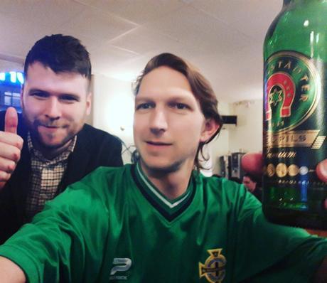 Coincidence - meeting Adam Carr in Frankfurt!