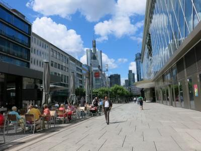 Downtown Frankfurt, Germany
