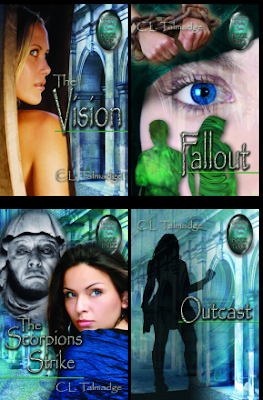 To write her multigenerational speculative fiction series, C.L. Talmadge delved into her own past lives and those of her family, friends, clients, and acquaintances. The fictionalized result is the Green Stone of Healing(R) saga