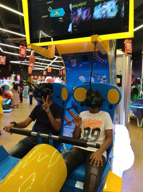 How we spend our weekend at Timezone, Inorbit Mall, Malad