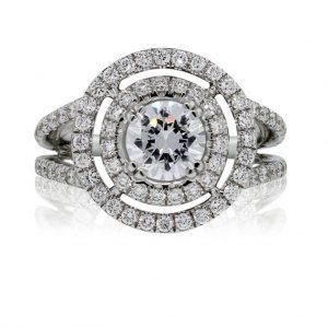 Split-Shank Engagement Rings