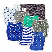 Nautical Baby Cloth Pocket Diapers