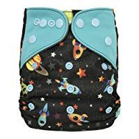 All-in-one Cloth Diaper Shell with Double Gussets
