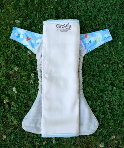 Prefold cloth diaper