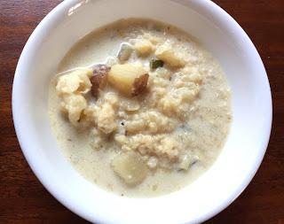 Instant Pot Bacon Cauliflower Soup