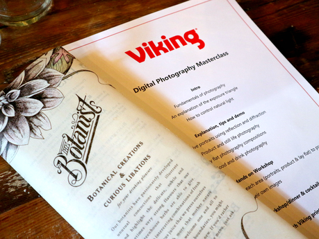 My First Blogging Event | Viking's Photography Masterclass At The Botanist