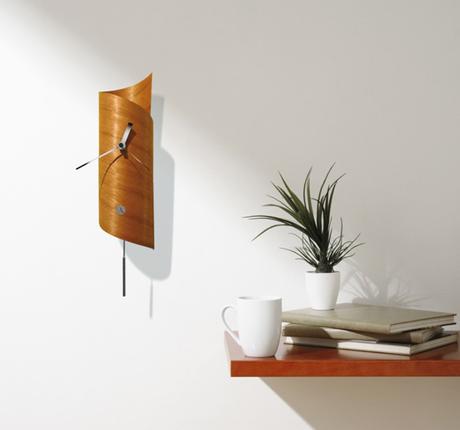 Wallsurf Pendulum Clock - Cedar