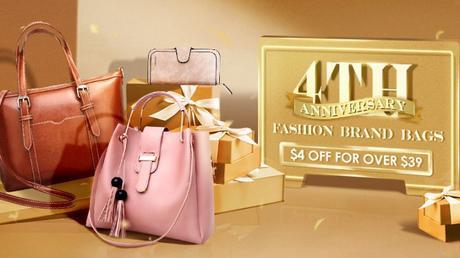 Newchic 4th Anniversary Brand Bags Big Sale