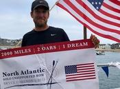 American Rower Sets Speed Record Atlantic Ocean Crossing
