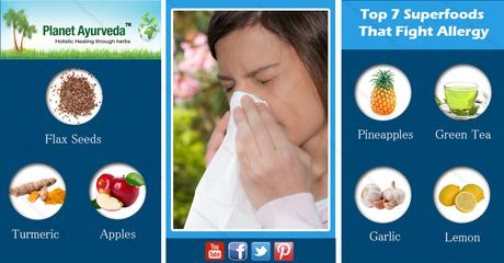 Top 7 Superfoods That Fight Allergy
