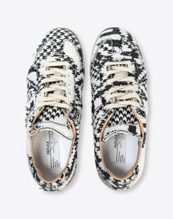 Abstract As A Matter Of Fact!:  Maison Margiela Printed Low Top Replica Sneaker