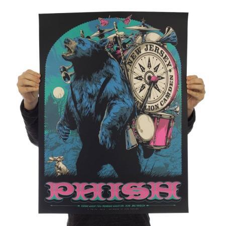 Phish 2018 Summer tour SBD + torrents: 2018/08/07 Camden