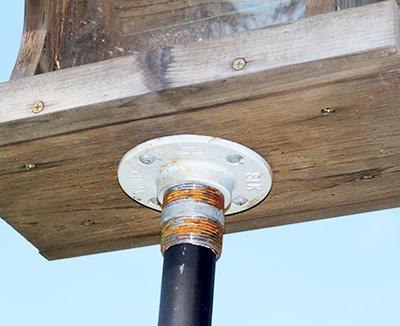 Driftwood Weathering Wood Finish Birdhouse