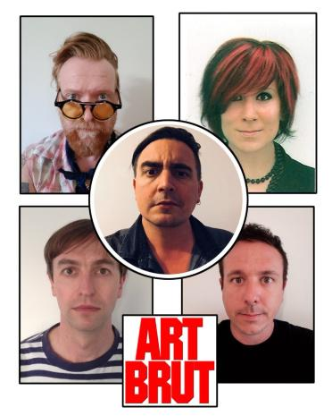 Art Brut sign to Alcopop! and unveil new single 'Wham! Bang! Pow! Let's Rock Out!'
