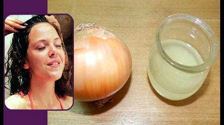 Onion Juice- The Magic for Hair Growth!