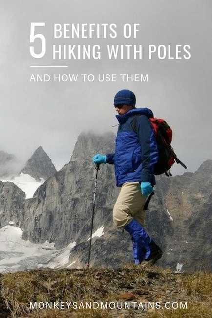 5 Benefits of Hiking with Poles