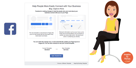 How To Change Your New Facebook Page Template Feature