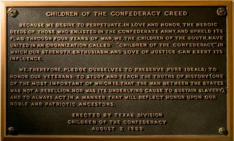 It's Time To Remove Confederate Plaque From Capitol Bldg.