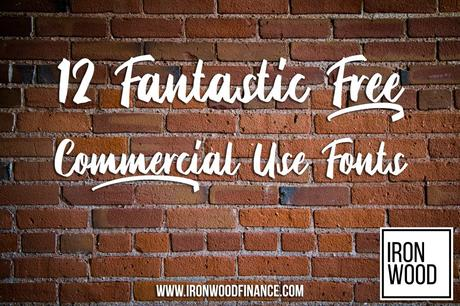 12 Fantastic Free Commercial Use Fonts