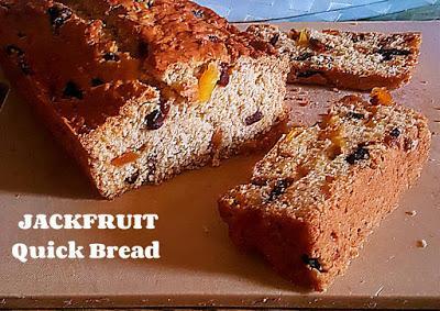 Jackfruit Quick Bread Recipe @ treatntrick.blogspot.com