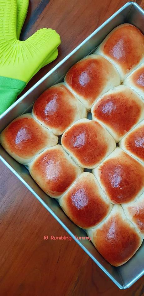 Hokkaido bread bun