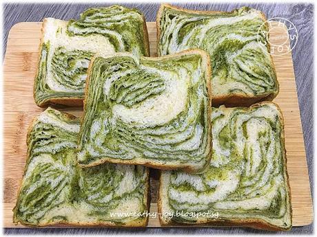 Matcha Layered Bread