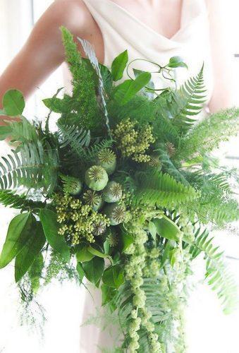 elegant wedding bouquets big green bouquet atelieroui
