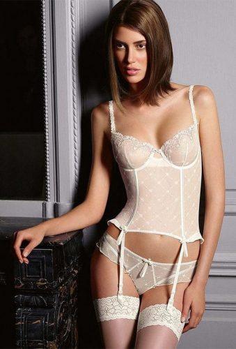 bridal undergarmentsivory wedding corset lingeriepop