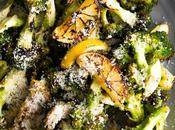 Grilled Broccoli with Lemon & Parmesan