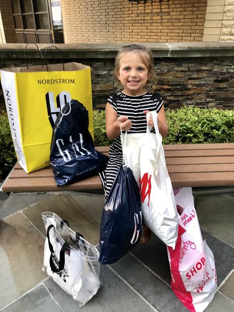 Back-to-school shopping at Beachwood Place