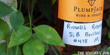 Russell's Reserve Single Barrel Bourbon Label