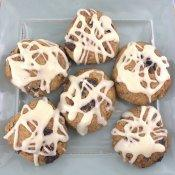Low Carb Cinnamon Raisin Biscuits #BreadBakers