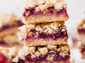 Plum Crumble Bars (Gluten Free Vegan)