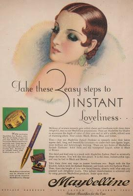 Maybelline provided an inexpensive eye beautifier that  mirrored the glamour of a woman's favorite Glamour Queen