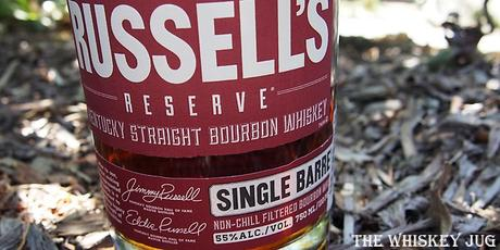 Russell's Reserve Bourbon Label